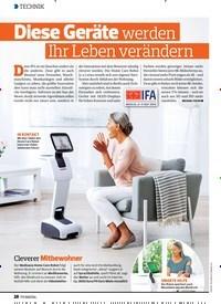 Titelbild der Ausgabe 18/2019 von Diese Geräte werden Ihr Leben verändern. Zeitschriften als Abo oder epaper bei United Kiosk online kaufen.