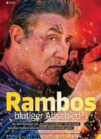 Titelbild der Ausgabe 19/2019 von KINO: Rambo blutiger Abschied. Zeitschriften als Abo oder epaper bei United Kiosk online kaufen.