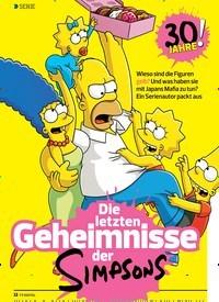 Titelbild der Ausgabe 21/2019 von SERIE: Die letzten Geheimnisse der … Simpsonos. Zeitschriften als Abo oder epaper bei United Kiosk online kaufen.