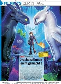 Titelbild der Ausgabe 21/2019 von FILMHITS DER 14 TAGE. Zeitschriften als Abo oder epaper bei United Kiosk online kaufen.