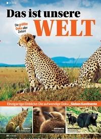Titelbild der Ausgabe 24/2019 von DOKU: Das ist unsere WELT. Zeitschriften als Abo oder epaper bei United Kiosk online kaufen.