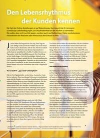 Titelbild der Ausgabe 24/2019 von Den Lebensrhythmus der Kunden kennen. Zeitschriften als Abo oder epaper bei United Kiosk online kaufen.