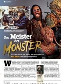 Titelbild der Ausgabe 25/2019 von REPORT: Der Meister der MONSTAR. Zeitschriften als Abo oder epaper bei United Kiosk online kaufen.