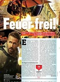 Titelbild der Ausgabe 25/2019 von TV AKTUELL: Feuer frei!. Zeitschriften als Abo oder epaper bei United Kiosk online kaufen.