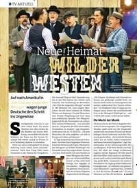 Titelbild der Ausgabe 26/2019 von TV AKTUELL: Neue Heimat WILDER WESTEN. Zeitschriften als Abo oder epaper bei United Kiosk online kaufen.