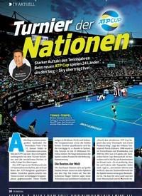 Titelbild der Ausgabe 1/2020 von Turnier der Nationen. Zeitschriften als Abo oder epaper bei United Kiosk online kaufen.