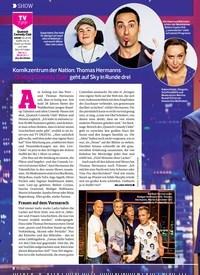 Titelbild der Ausgabe 2/2020 von SHOW: Willkommen im Club. Zeitschriften als Abo oder epaper bei United Kiosk online kaufen.