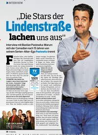"""Titelbild der Ausgabe 3/2020 von INTERVIEW: """"Die Stars der Lindenstraße lachen uns aus"""". Zeitschriften als Abo oder epaper bei United Kiosk online kaufen."""