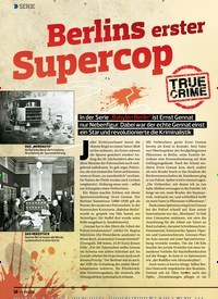 Titelbild der Ausgabe 3/2020 von SERIE: Berlins erster Supercop. Zeitschriften als Abo oder epaper bei United Kiosk online kaufen.