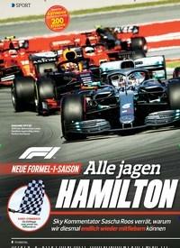 Titelbild der Ausgabe 5/2020 von SPORT: Alle jagen HAMILTON. Zeitschriften als Abo oder epaper bei United Kiosk online kaufen.