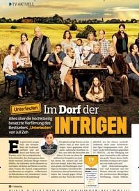 Titelbild der Ausgabe 5/2020 von TV AKTUELL: Im Dorf der INTRIGEN. Zeitschriften als Abo oder epaper bei United Kiosk online kaufen.