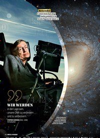 Titelbild der Ausgabe 6/2018 von Das Vermächtnis des Stephen Hawking. Zeitschriften als Abo oder epaper bei United Kiosk online kaufen.