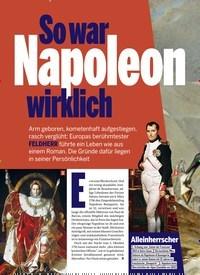 Titelbild der Ausgabe 1/2019 von So war Napoleon wirklich. Zeitschriften als Abo oder epaper bei United Kiosk online kaufen.