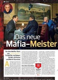 Titelbild der Ausgabe 24/2019 von KINO:Das neue Mafia-Meister werk. Zeitschriften als Abo oder epaper bei United Kiosk online kaufen.