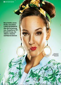 """Titelbild der Ausgabe 10/2018 von INTERVIEW: """"Ich habe einen sehr vulgären Humor"""". Zeitschriften als Abo oder epaper bei United Kiosk online kaufen."""