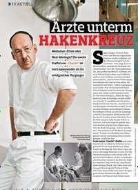 Titelbild der Ausgabe 4/2019 von TV AKTUELL: Ärzte unterm HAKENKREUZ. Zeitschriften als Abo oder epaper bei United Kiosk online kaufen.