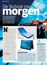 Titelbild der Ausgabe 4/2019 von Die Technik von morgen. Zeitschriften als Abo oder epaper bei United Kiosk online kaufen.