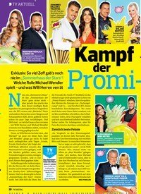 Titelbild der Ausgabe 15/2019 von TV AKTUELL: Kampf der Promi-Paare. Zeitschriften als Abo oder epaper bei United Kiosk online kaufen.