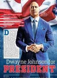 Titelbild der Ausgabe 15/2019 von REPORT: Dwayne Johnson for PRESIDENT. Zeitschriften als Abo oder epaper bei United Kiosk online kaufen.
