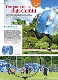 Titelbild der Ausgabe 5/2018 von Fun-Faktor Riesig: Das ganz neue Ball-Gefühl. Zeitschriften als Abo oder epaper bei United Kiosk online kaufen.