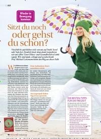 Titelbild der Ausgabe 5/2018 von Wieder in Bewegung Kommen: Sitzt du noch oder gehst du schon?. Zeitschriften als Abo oder epaper bei United Kiosk online kaufen.