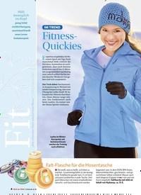 Titelbild der Ausgabe 6/2018 von IM TREND: Fitness-Quickies. Zeitschriften als Abo oder epaper bei United Kiosk online kaufen.