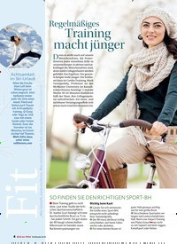 Titelbild der Ausgabe 1/2019 von Regelmäßiges: Training macht jünger. Zeitschriften als Abo oder epaper bei United Kiosk online kaufen.