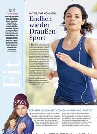 Titelbild der Ausgabe 2/2019 von NATUR, WIR KOMMEN! Endlich wieder Draußen-Sport. Zeitschriften als Abo oder epaper bei United Kiosk online kaufen.