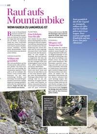 Titelbild der Ausgabe 2/2019 von Rauf aufs Mountainbike: WENN RADELN ZU LANGWEILIG IST. Zeitschriften als Abo oder epaper bei United Kiosk online kaufen.