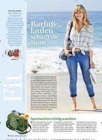 Titelbild der Ausgabe 3/2019 von 30 MINUTEN REICHEN: Barfuß laufen schärft die Sinne. Zeitschriften als Abo oder epaper bei United Kiosk online kaufen.