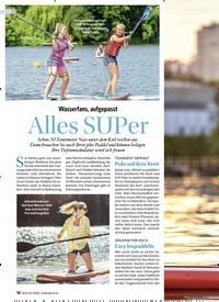 Titelbild der Ausgabe 3/2019 von Wasserfans, aufgepasst: Alles SUPer. Zeitschriften als Abo oder epaper bei United Kiosk online kaufen.