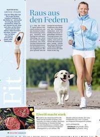 Titelbild der Ausgabe 4/2019 von Raus aus den Federn. Zeitschriften als Abo oder epaper bei United Kiosk online kaufen.