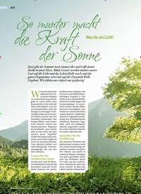 Titelbild der Ausgabe 4/2019 von So munter macht die Kraft der Sonne Was für ein Licht!. Zeitschriften als Abo oder epaper bei United Kiosk online kaufen.