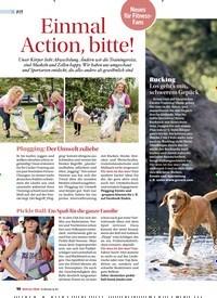 Titelbild der Ausgabe 4/2019 von Einmal Action, bitte!. Zeitschriften als Abo oder epaper bei United Kiosk online kaufen.
