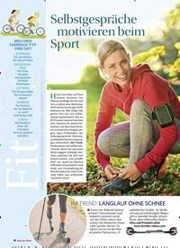Titelbild der Ausgabe 5/2019 von Selbstgespräche motivieren beim Sport. Zeitschriften als Abo oder epaper bei United Kiosk online kaufen.