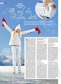 Titelbild der Ausgabe 6/2019 von Endlich Schlittschuh- Saison: Alle auf die Kufen, bitte!. Zeitschriften als Abo oder epaper bei United Kiosk online kaufen.