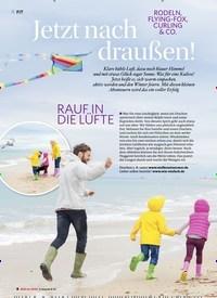 Titelbild der Ausgabe 1/2020 von Jetzt nach draußen!. Zeitschriften als Abo oder epaper bei United Kiosk online kaufen.