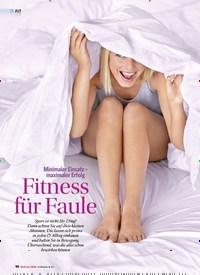 Titelbild der Ausgabe 1/2020 von Minimaler Einsatz – maximaler Erfolg: Fitness für Faule. Zeitschriften als Abo oder epaper bei United Kiosk online kaufen.
