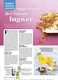 Titelbild der Ausgabe 5/2020 von HERBST-SPEZIAL: IMMUNABWEHR: Superfood der Saison: Ingwer. Zeitschriften als Abo oder epaper bei United Kiosk online kaufen.