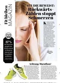 Titelbild der Ausgabe 6/2020 von Fit bleiben MAGAZIN. Zeitschriften als Abo oder epaper bei United Kiosk online kaufen.