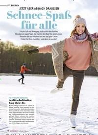 Titelbild der Ausgabe 6/2020 von JETZT ABER AB NACH DRAUSSEN: Schnee-Spaß für alle. Zeitschriften als Abo oder epaper bei United Kiosk online kaufen.