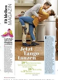 Titelbild der Ausgabe 1/2021 von MAGAZIN: FÜR PURE GLÜCKSMOMENTE: Jetzt Tango tanzen. Zeitschriften als Abo oder epaper bei United Kiosk online kaufen.