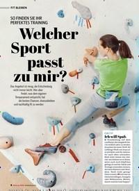Titelbild der Ausgabe 1/2021 von SO FINDEN SIE IHR PERFEKTES TRAINING: Welcher Sport passt zu mir?. Zeitschriften als Abo oder epaper bei United Kiosk online kaufen.