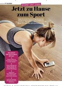 Titelbild der Ausgabe 1/2021 von INTERNET STATT STUDIO: Jetzt zu Hause zum Sport. Zeitschriften als Abo oder epaper bei United Kiosk online kaufen.