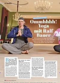Titelbild der Ausgabe 1/2021 von RICHTIG DURCHATMEN: Ommhhhh! Yoga mit Ralf Bauer. Zeitschriften als Abo oder epaper bei United Kiosk online kaufen.