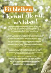 Titelbild der Ausgabe 2/2021 von AUSBLICK: Fit bleiben Kommt alle mit, wir toben!. Zeitschriften als Abo oder epaper bei United Kiosk online kaufen.