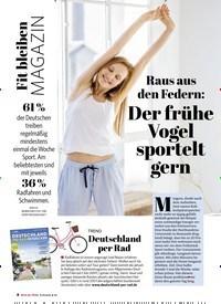 Titelbild der Ausgabe 2/2021 von Fit bleiben MAGAZIN: Raus aus den Federn: Der frühe Vogel sportelt gern. Zeitschriften als Abo oder epaper bei United Kiosk online kaufen.