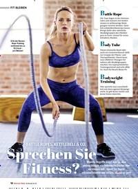 Titelbild der Ausgabe 2/2021 von BATTLE ROPES, KETTLEBELL & CO. Sprechen Sie Fitness?. Zeitschriften als Abo oder epaper bei United Kiosk online kaufen.