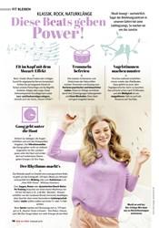 Titelbild der Ausgabe 2/2021 von KLASSIK, ROCK, NATURKLÄNGE: Diese Beats geben Power!. Zeitschriften als Abo oder epaper bei United Kiosk online kaufen.