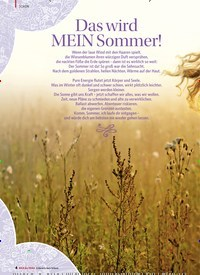 Titelbild der Ausgabe 1/2018 von Das wird MEIN Sommer!. Zeitschriften als Abo oder epaper bei United Kiosk online kaufen.
